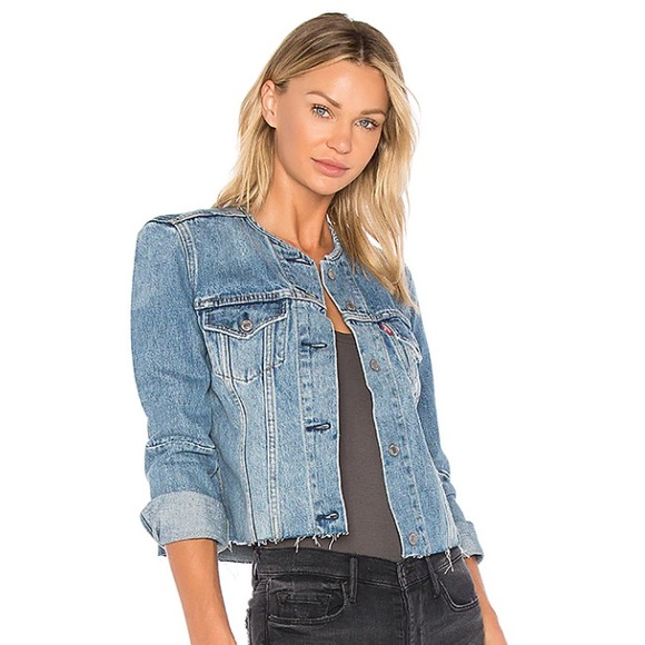 Levi's Altered Trucker Jacket Better Together XS